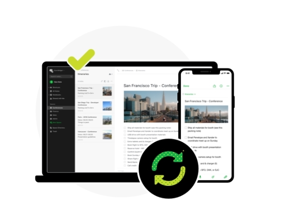 Evernote対応の端末